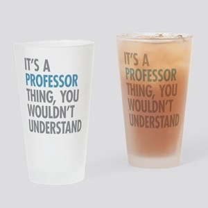 Professor Thing Drinking Glass