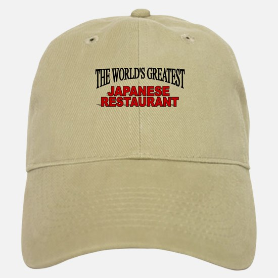 """The World's Greatest Japanese Restaurant"" Baseball Baseball Cap"