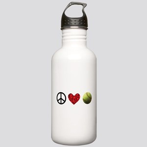 Peace Love Softball Stainless Water Bottle 1.0l