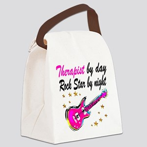 CHIC THERAPIST Canvas Lunch Bag