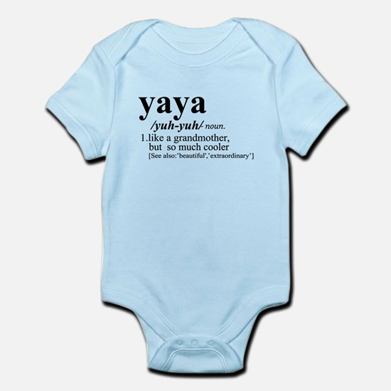 Yaya Like a Grandmother But Cooler Body Suit