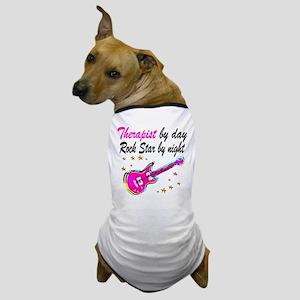 CHIC THERAPIST Dog T-Shirt