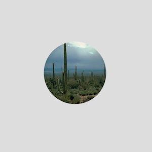 Arizona Desert and Cactuses Mini Button