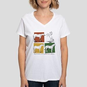 Stock horses Women's V-Neck T-Shirt