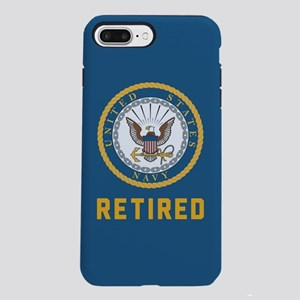 US Navy Retired iPhone 8/7 Plus Tough Case
