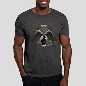GOTG Rocket Head Dark T-Shirt
