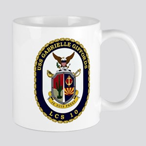 USS Giffords LCS-10 Mug