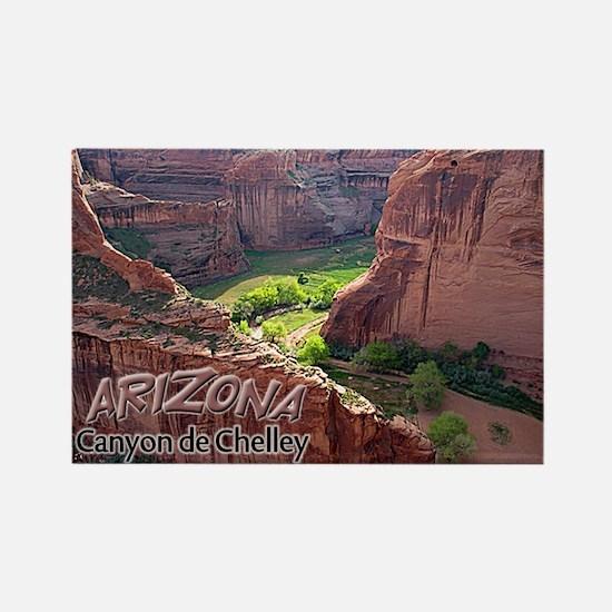 Arizona Canyon de Chelley Rectangle Magnet
