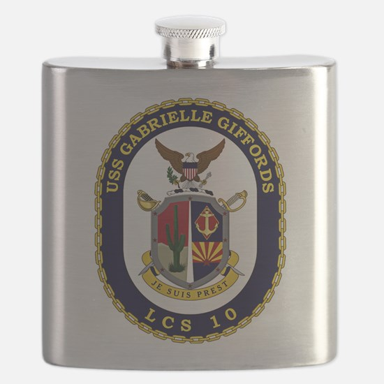 USS Giffords LCS-10 Flask