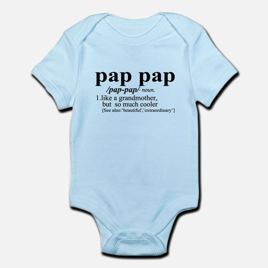 pap papa Like a Grandmother But Cooler Body Suit
