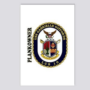 Plankowner LCS-10 Postcards (Package of 8)
