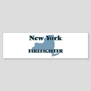New York Firefighter Bumper Sticker