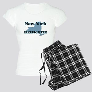 New York Firefighter Women's Light Pajamas