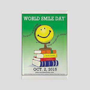 World Smile Day 2015 Poster Rectangle Magnet