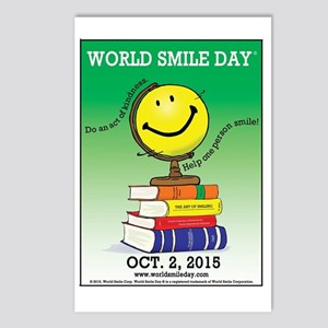 World Smile Day 2015 Post Postcards (Package of 8)