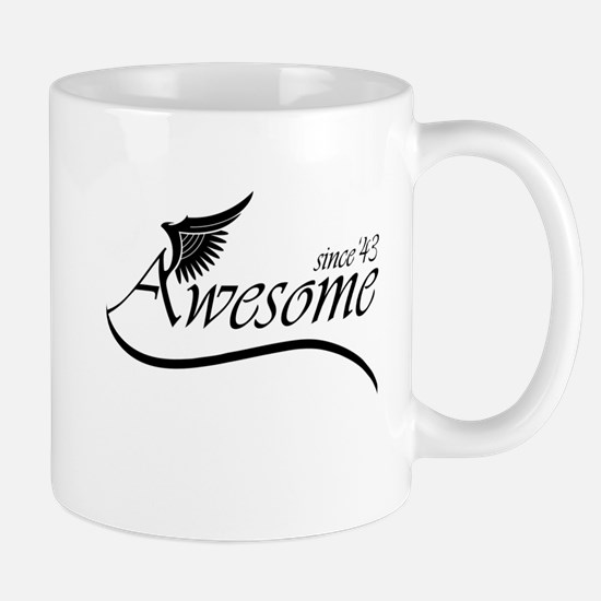 awesome since 1943 Mugs