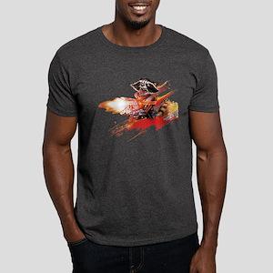 GOTG Rocket Slash Dark T-Shirt