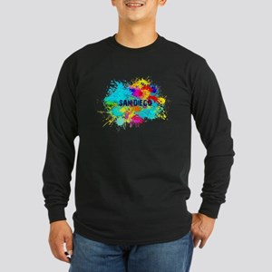 SAN DIEGO BURST Long Sleeve T-Shirt