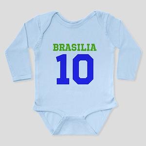 BRASILIA #10 Long Sleeve Infant Bodysuit