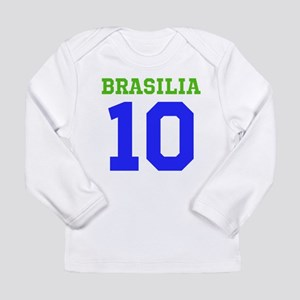 BRASILIA #10 Long Sleeve Infant T-Shirt