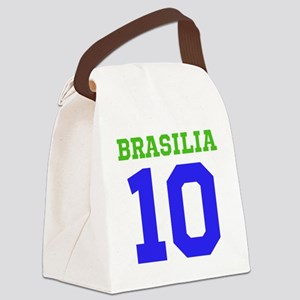 BRASILIA #10 Canvas Lunch Bag