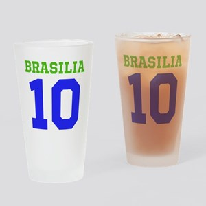 BRASILIA #10 Drinking Glass