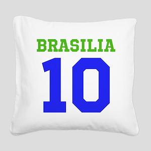 BRASILIA #10 Square Canvas Pillow