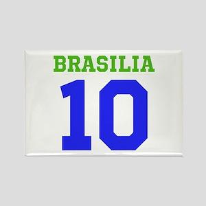 BRASILIA #10 Rectangle Magnet