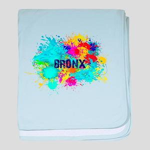 BRONX BURST baby blanket