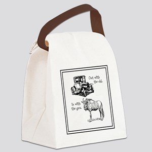 Out with the old Canvas Lunch Bag