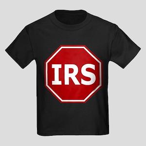 Stop The IRS Kids Dark T-Shirt