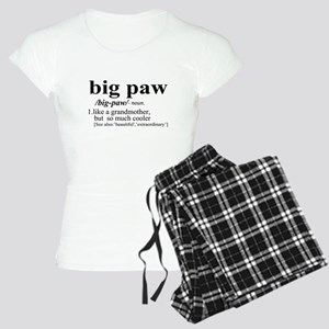 big paw Like a Grandmother But Cooler Pajamas