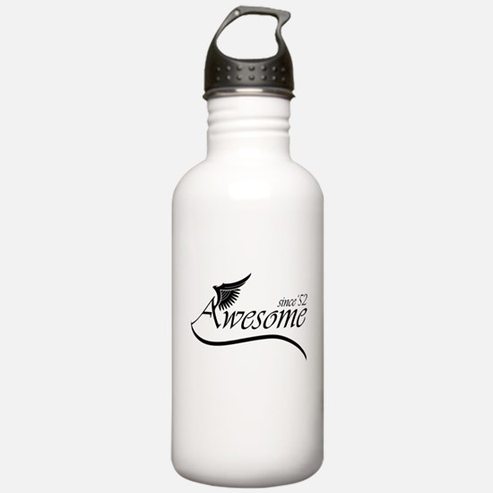 awesome since 1952 Sports Water Bottle