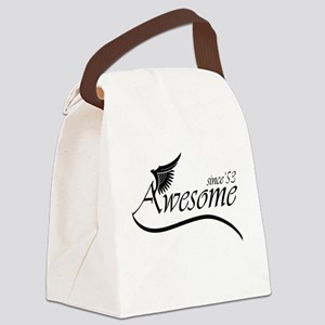 awesome since 1953 Canvas Lunch Bag