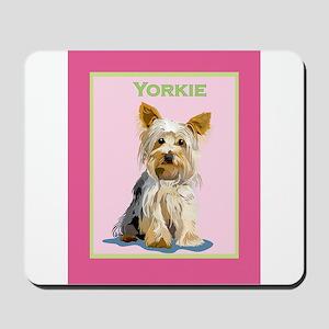 Yorkie Mousepad
