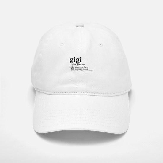 gigi Like a Grandmother But Cooler Baseball Baseball Cap