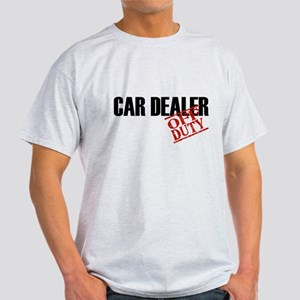Off Duty Car Dealer Light T-Shirt