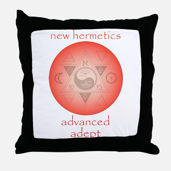 New Hermetics Advanced Adept Throw Pillow