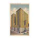 Mayflower Hotel Sticker (Rectangle)
