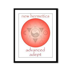 New Hermetics Advanced Adept Framed Panel Print