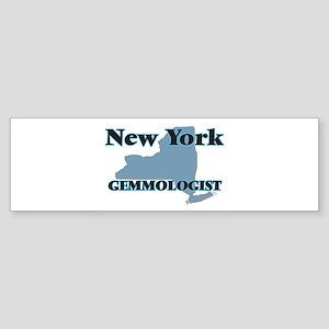 New York Gemmologist Bumper Sticker