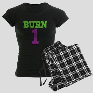 BURN 1 Women's Dark Pajamas