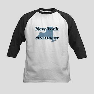 New York Genealogist Baseball Jersey