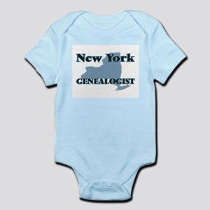 New York Genealogist Body Suit