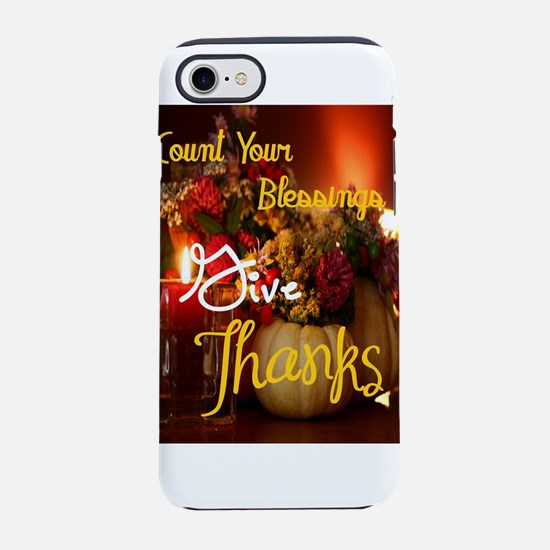 Count Your Blessings iPhone 8/7 Tough Case