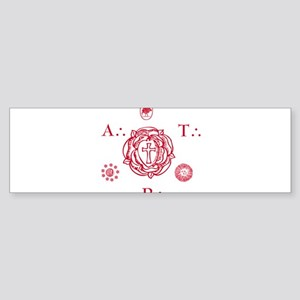 Sacred Seal of the ART Bumper Sticker