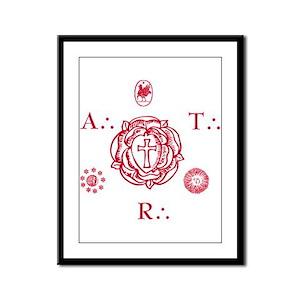 Sacred Seal of the ART Framed Panel Print