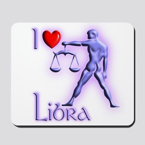 I Love Libra Mousepad