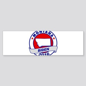 montana Biden 2016 Bumper Sticker
