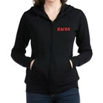 Bacon Camo Women's Zip Hoodie